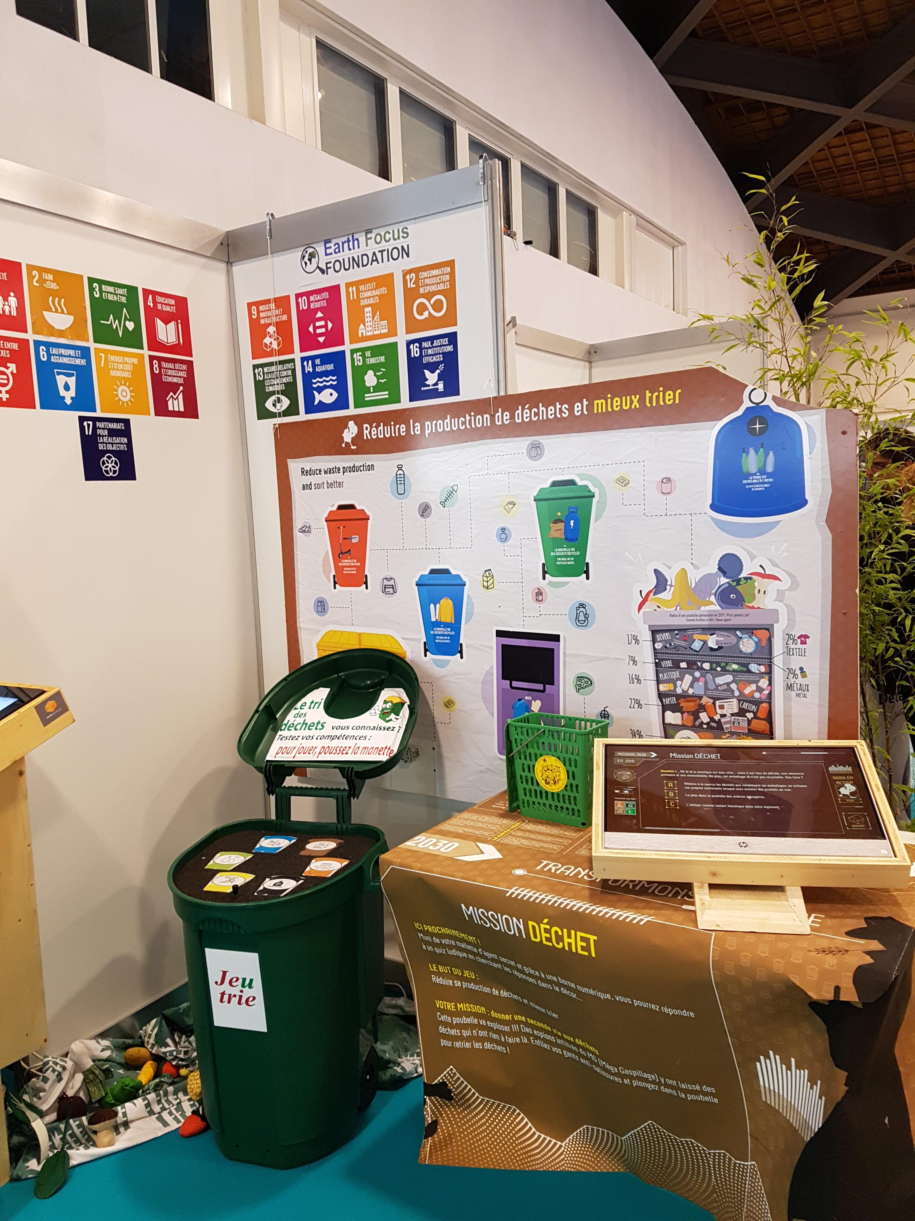 2019 02 13 Climate Show Atelier déchets