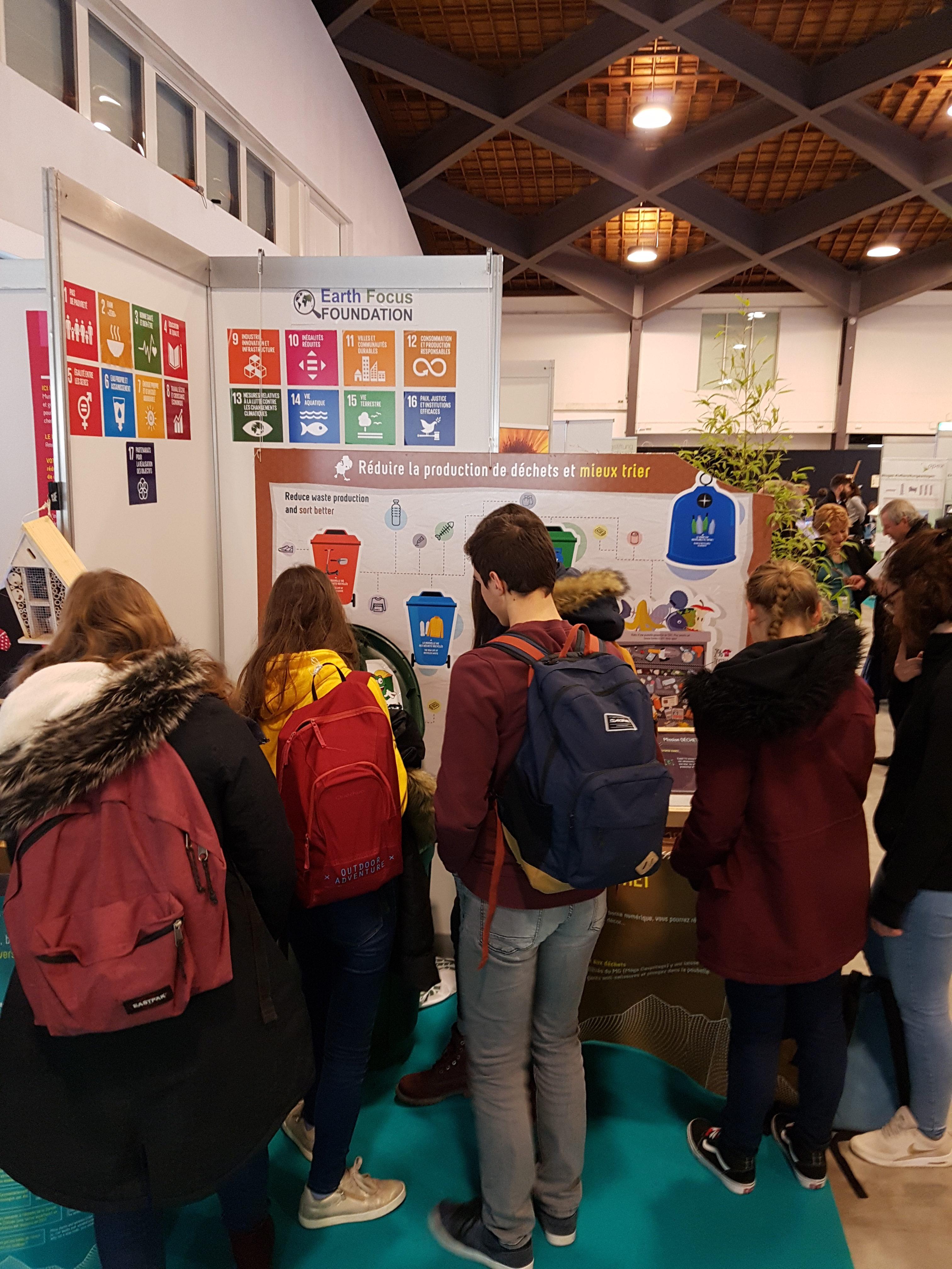 2019 02 14 Climate Show Atelier déchets
