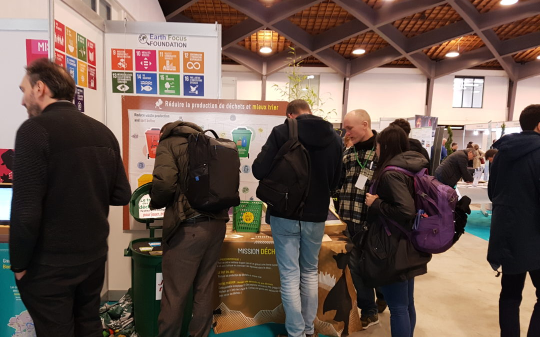 Stand Sustainabus au Climate Show 2019 !